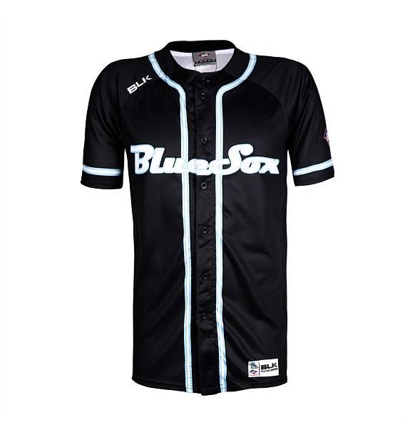 Sydney Blue Sox Baseball Jersey Black